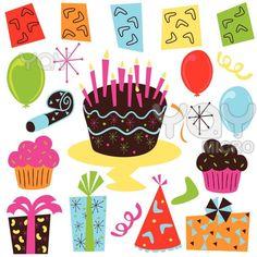 Happy Birthday Clip Art | Huge Birthday Cake Clip Art | Happy Birthday Idea