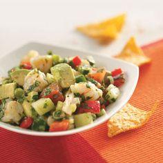 Avocado Shrimp Salsa Recipe from Taste of Home