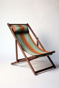 deckchair dreaming of sunnier days