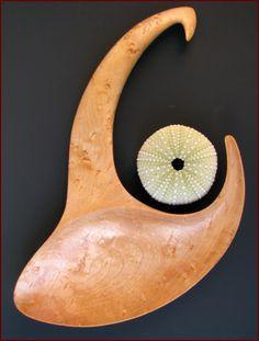 Artist Harry Mangalan / Recoil   2013 Birdseye Maple, mineral oil finish