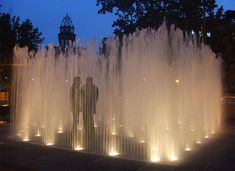 ✩ Check out this list of creative present ideas for bbq and grilling fans Water Fountain Design, Fountain Lights, Architectural Sculpture, Water Effect, Online Magazine, Outdoor Sculpture, Flash Photography, Street Furniture, Water Features