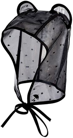 Maison Michel PVC Lara Rain Bonnet