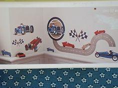 NIP Circo Vintage Car Collection Wall Decals Racing Boy's Room Bedroom Decor | eBay