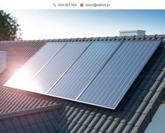 #KolektorySłoneczne płaskie, czyli #solary są popularne ze względu na swoją trwałość i przystępną cenę. Absorbują promienie słoneczne i przekształcają w energię do podgrzewania wody użytkowej.