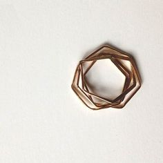 Hexagon nest ring / Interlocking Puzzle Ring