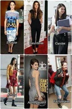 Shailene dressing like the factions