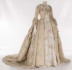 Costume designed by Christian Gasc and Valérie Ranchoux for Diane Kruger in Farewell, My Queen (Les Adieux à la Reine) (2012) From the Musée des Dentelles et Broderies de Caudry