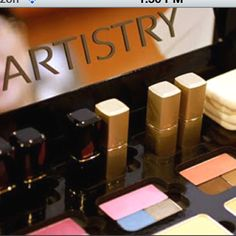 Artistry Makeup. The only thing Miss America wears for a reason! =]...Want to buy some of there products let me know