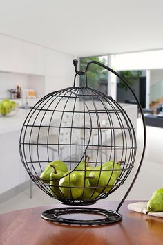 "Mesa Sphere Banana Hanger/Fruit basket  Details: Add a unique look to your kitchen with this fun addition that's perfect for storing your fresh produce! - 12.99"" H x 11.42"" W x 15.75"" L - Imported Materials: Wrought iron steel $96.00"