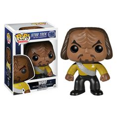 Funko TV POP! Star Trek: The next Generation: Worf #191
