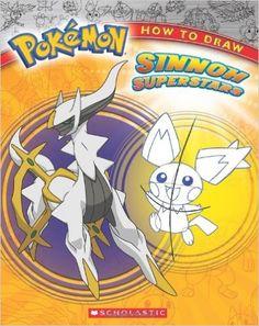 Pokemon: How to Draw Sinnoh Superstars: Ron Zalme: 9780545248273: Amazon.com: Books