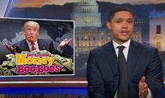 Trevor Noah: Trump Charging Secret Service For Rent Is 'A D**k Move' | The Huffington Post