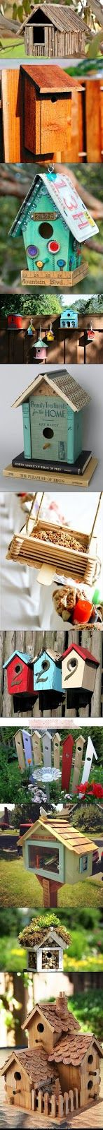 DIY Amazing Birdhouse Want to make one for the treehouse with my old license plate