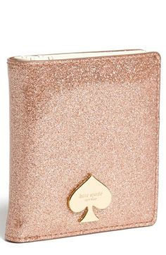 Pretty and glittery kate spade wallet http://rstyle.me/n/pzwbvnyg6