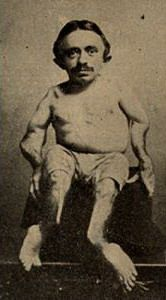 Samuel D. Parks  1874-1923. 49 - aka Hopp the Frog Boy