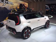 I do love the idea of a rollback canvas top. The world needs more convertibles, or canvas. Take your pick! #CAS15