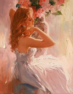Painting by Richard S. Johnson