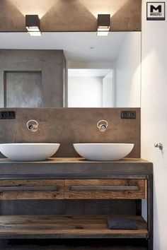 10 Quick Hacks: Simple Natural Home Decor Woods natural home decor diy interior design.Natural Home Decor Diy Tree Branches simple natural home decor guest rooms.Natural Home Decor Rustic Mirror. Rustic Bathroom Decor, Modern Farmhouse Bathroom, Modern Bathroom Design, Bathroom Interior, Rustic Farmhouse, Modern Bathrooms, Country Bathrooms, White Bathrooms, Industrial Farmhouse