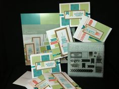 Chantilly Cardmaking Workshop on the Go Kit by Close To My Heart