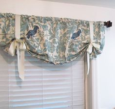 TIE UP Curtain Valance Premier Prints Barber By Supplierofdreams