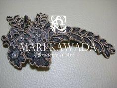 Barrette http://www.marikawada.com/creation/ http://www.marikawada.com/online-shop/