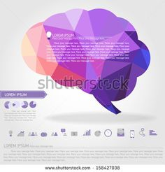 brain banner and business icon vector - stock vector