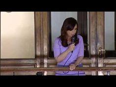 """""""Siempre les gustó el silencio, porque no tienen nada que decir o porque no pueden decir lo que piensan"""" -- http://www.cfkargentina.com/cristina-kirchner-con-la-militancia-y-juventud-en-casa-rosada/"""