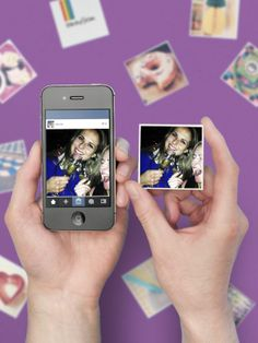 This website turns your Instagrams into cute little magnets//