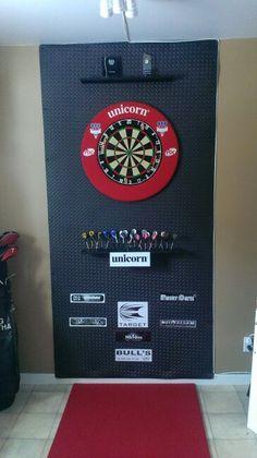 Mon setup de darts...