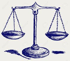 justice scale drawing - Google Search
