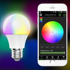 Magic Blue UU E27 Bulb Bluetooth 4.0-9.36 Online Shopping| GearBest.com