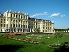 Schloss Schonbrunn. Vienna, Austria. 1746