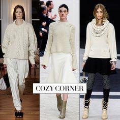 Fall 2013 Runway Report: Cozy Corner