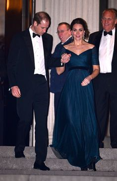 Pin for Later: Kate Middleton Shows Off Her Baby Bump at a Superglam NYC Gala