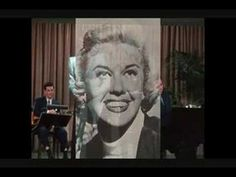 """Doris Day, """"I'll Never Stop Loving You"""" A VERY CLASSY LADY! SHE NEVER DESERTED ROCK HUDSON AS A FRIEND! SHE DID NOT JUDGE HIM, JUST LOVED HIM AS HER FRIEND! <3"""