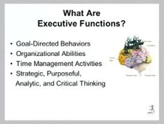 Executive Functioning: What are Executive Functions? #SPED #UnderstandingDifferentLearners