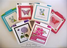 NOVEMBER 05, 2013  Handmade Gifts | Post-It Note holders, made to be refillable and they include a cute little pencil or gel pen