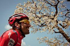 Professional cyclist portraits by Richard Baybutt - Fabian Cancellara  Location: Bern, Switzerland, June 2010  Featured in Cycle Sport August 2010