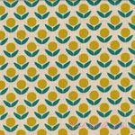 Ellen Luckett Baker Stamped Circle Flowers Yellow [IMPORT-JG41500-502A] - $19.95 : Pink Chalk Fabrics is your online source for modern quilting cottons and sewing patterns., Cloth, Pattern + Tool for Modern Sewists