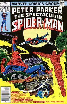 Peter Parker, The Spectacular Spider-Man # 6 by Al Milgrom