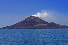Anak Krakatau Volcanic Island