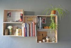 Floating Shelves, Book Art, Stencils, Home Decor, Home, Homemade Home Decor, Wall Storage Shelves, Altered Book Art, Templates