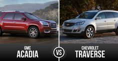 Feud for Top Full Sized SUV Finally Answered – Chevrolet Traverse vs GMC Acadia