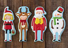 Curso a distancia de galletas de Navidad