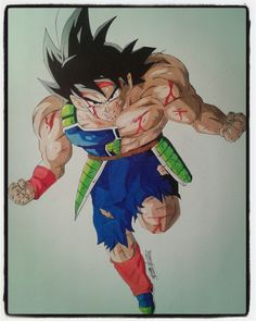 Prismacolor colored pencil drawing of Bardock. (33x48) Here comes the speed drawing of Bardock. You can also see the tutorial on how to color. Support me by subscribing to my youtube channel. Not to miss any video. You can also follow me on Instagram, Google+ and Deviantart. Thanks to all and good vision. https://www.youtube.com/watch?v=Mttn3D6MazM&feature=youtu.be