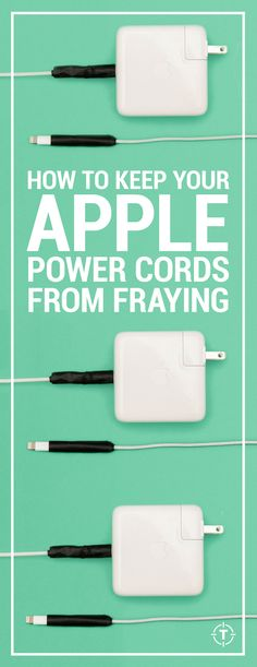 What to do to keep your Apple iPhone, iPad, and MacBook chargers from fraying.