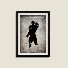 All Black Silhouette Superhero Iron Man Poster A3 Print by RightBrainJooz on Etsy https://www.etsy.com/listing/208584681/all-black-silhouette-superhero-iron-man