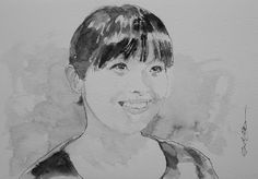 """Acoustic Drawings The Shinji Ogata Gallery: Mis MEG from RKK """"WELCOME!""""  RKK 熊本放送 """"WELCOME!"""" の..."""