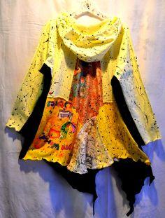 Recycled cotton shirts tunic