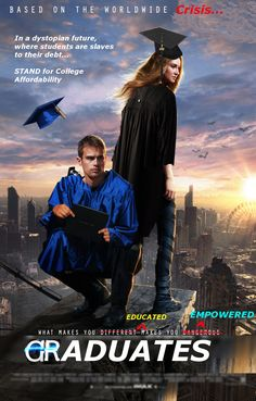 Parody Trailer: In a dystopian future where #students are slaves to #studentdebt... Oh wait! That's already happening